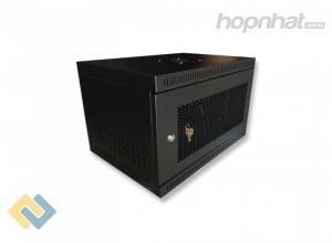 Tủ rack 6U D400 màu đen