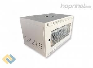 Tủ rack 6U D400 màu trắng
