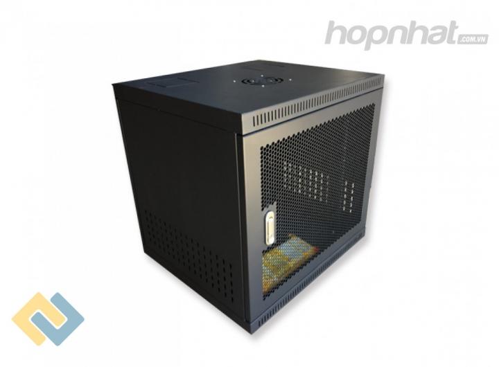 Tủ rack 10U D600 cửa lưới màu đen - Báo giá phân phối Tủ rack 10U D600 cửa lưới màu đen chính hãng
