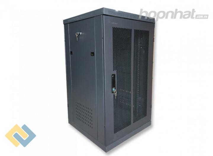 Tủ rack 20U D1000 cửa lưới màu đen - Báo giá phân phối Tủ rack 20U D1000 cửa lưới màu đen chính hãng