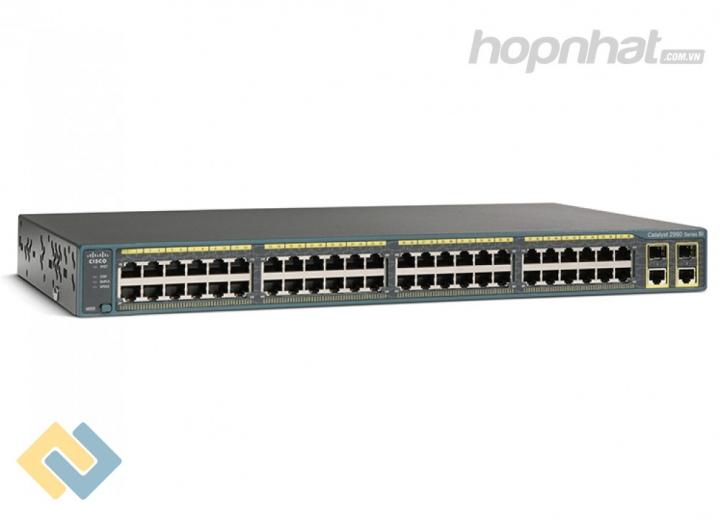 WS-C2960+48TC-S - Báo giá phân phối Cisco WS-C2960+48TC-S chính hãng, giá cực TốT