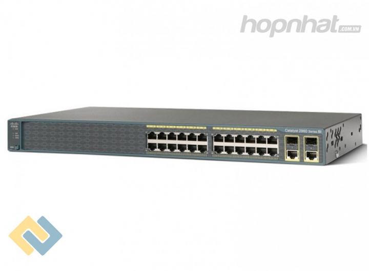 WS-C2960+24PC-L - Báo giá phân phối Cisco WS-C2960+24PC-L chính hãng, giá cực TốT