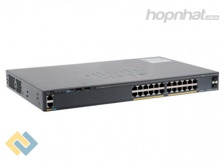 WS-C2960X-24TS-LL - Báo giá phân phối Cisco WS-C2960X-24TS-LL chính hãng, giá cực TốT