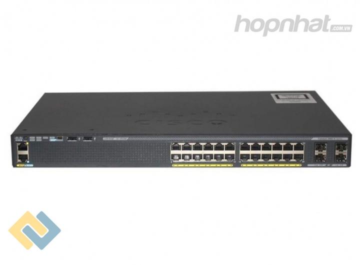 WS-C2960X-24PS-L - Báo giá phân phối Cisco WS-C2960X-24PS-L chính hãng, giá cực TốT