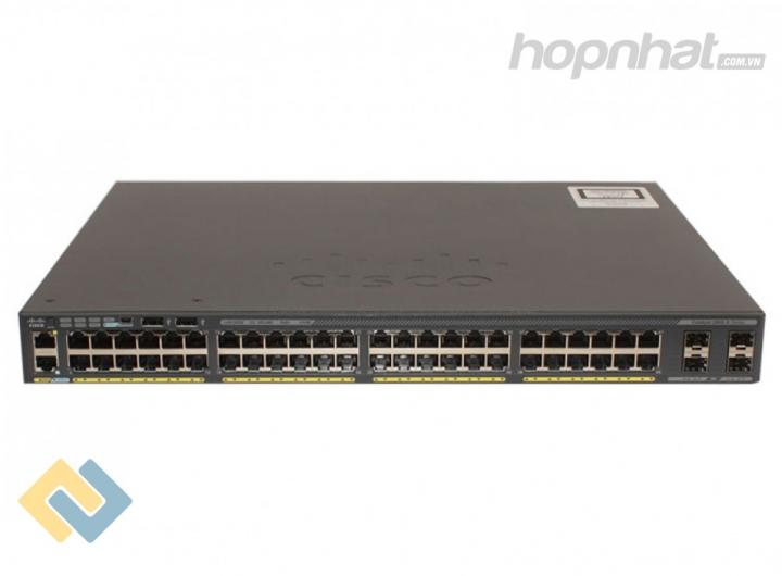 WS-C2960X-48FPS-L - Báo giá phân phối Cisco WS-C2960X-48FPS-L chính hãng, giá cực TốT