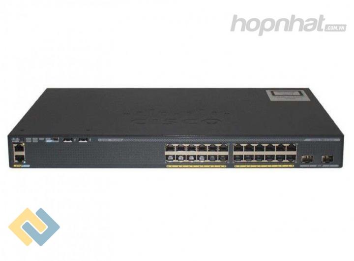 WS-C2960X-24TD-L - Báo giá phân phối Cisco WS-C2960X-24TD-L chính hãng, giá cực TốT