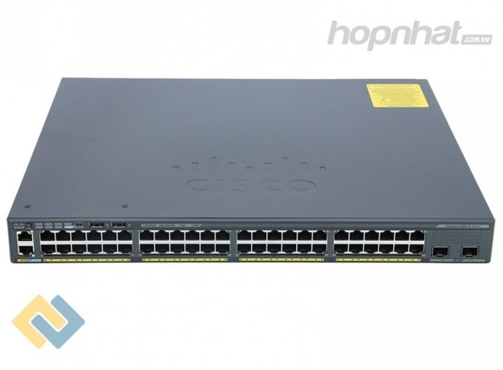 WS-C2960X-48LPS-L - Báo giá phân phối Cisco WS-C2960X-48LPS-L chính hãng, giá cực TốT