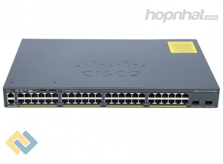 WS-C2960X-48TD-L - Báo giá phân phối Cisco WS-C2960X-48TD-L chính hãng, giá cực TốT