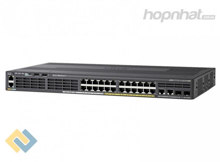 WS-C2960X-24PSQ-L - Báo giá phân phối Cisco WS-C2960X-24PSQ-L chính hãng, giá cực TốT