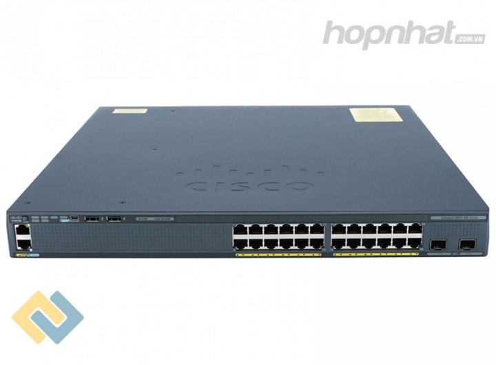 WS-C2960XR-24TS-I - Báo giá phân phối Cisco WS-C2960XR-24TS-I chính hãng, giá cực TốT