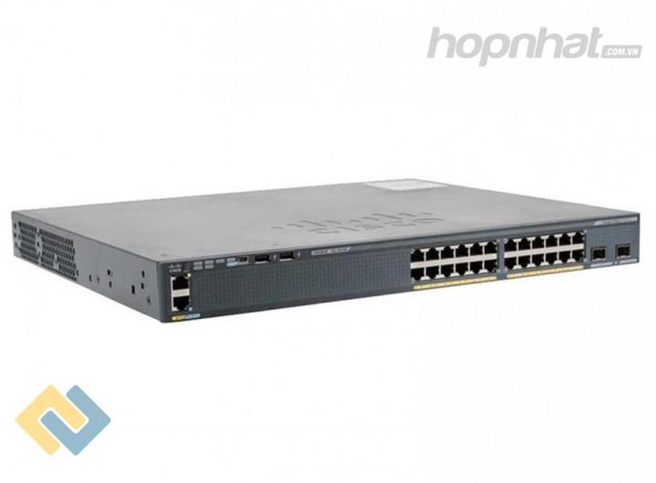 WS-C2960XR-24PS-I - Báo giá phân phối Cisco WS-C2960XR-24PS-I chính hãng, giá cực TốT