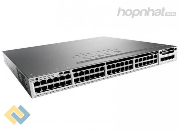 WS-C3850-48T-S - Báo giá phân phối Cisco WS-C3850-48T-S chính hãng, giá cực TốT