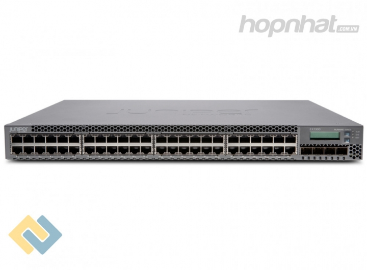 EX3300-48P Switch Juniper 48 Ports PoE+ 4 SFP+ uplink Slot