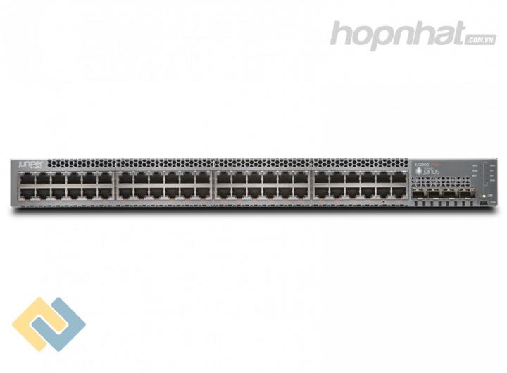 EX2300-48T-VC - Juniper EX2300-48T-VC 48 Port 10/100/1000BASE-T Data, 4 x 1/10GbE SFP/SFP+ Virtual Chassis