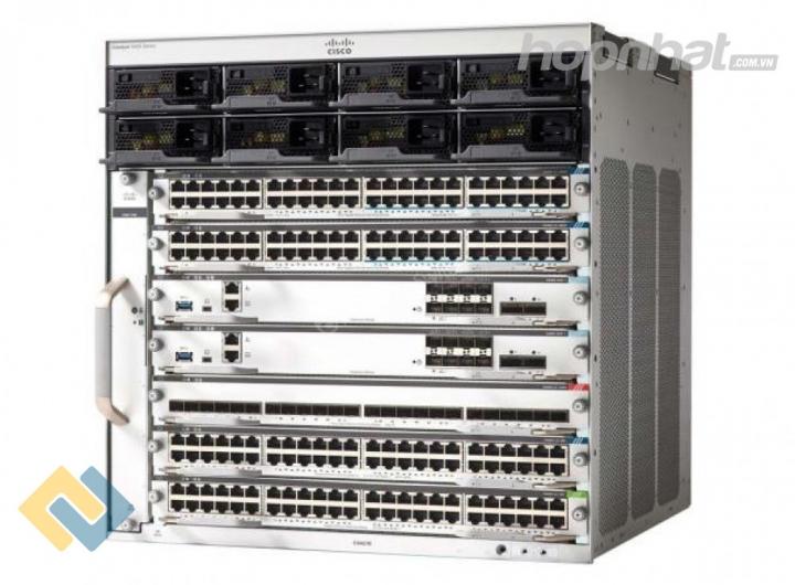C9407R-96U-BNDL-E - Cisco Switch Catalyst 9400 Catalyst 9400 Series 7 slot, Sup, 2xC9400-LC-48U , DNA-E LIC