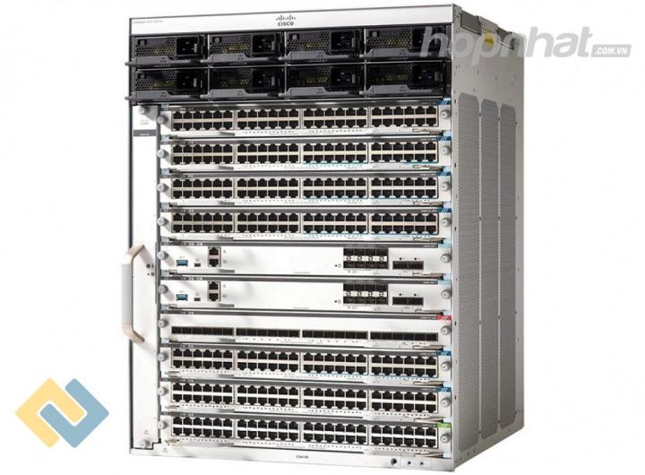 C9410R - Báo giá phân phối Cisco C9410R Cisco Catalyst 9400 Series 10 slot chassis chính hãng, giá cực TốT