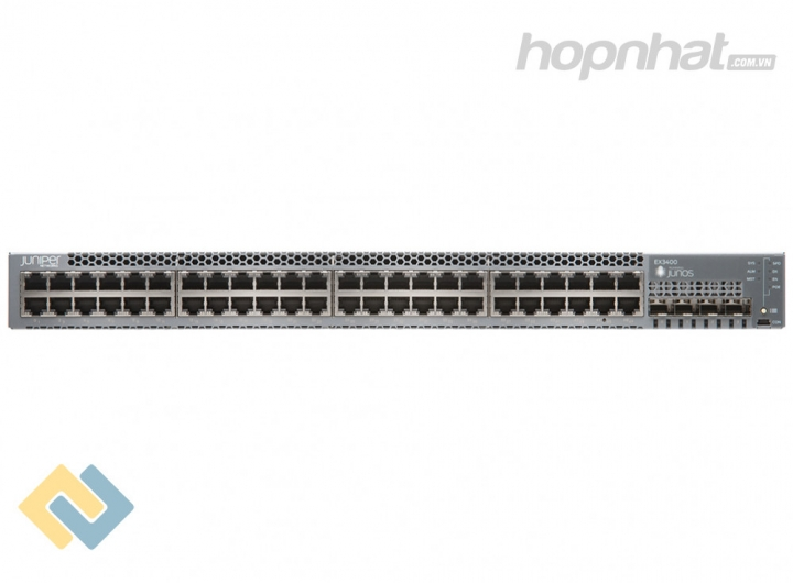 EX3400-48T Switch Juniper EX3400 48 Port Data 4 SFP+ 2 QSFP+