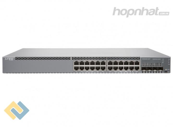 EX3400-24T - Switch Juniper EX3400 24 Port Data 4 SFP+ 2 QSFP+