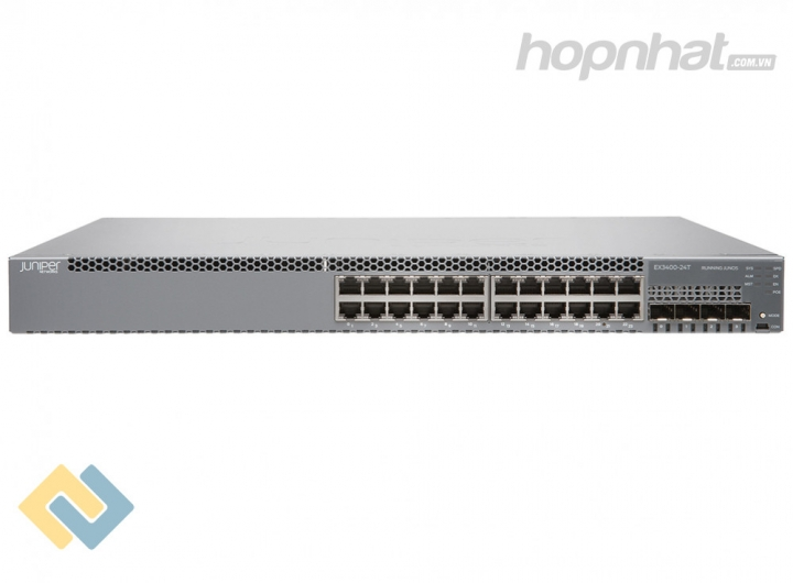 EX3400-24T-TAA Switch Juniper EX3400 24 Port Data 4 SFP+ 2 QSFP+
