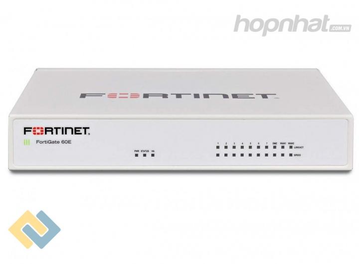 FortiGate 60E - Báo giá phân phối FortiGate 60E chính hãng