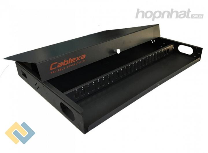 Vỏ ODF 48FO trong nhà gắn rack - Báo giá phân phối Vỏ ODF 48FO trong nhà gắn rack chính hãng