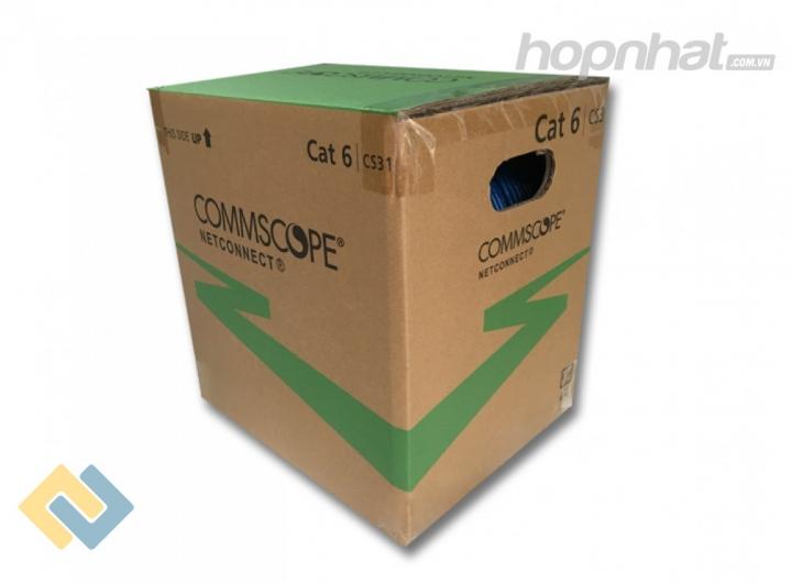 Cáp mạng Cat6 UTP Commscope AMP - Báo giá phân phối Cáp mạng Cat6 UTP Commscope AMP chính hãng