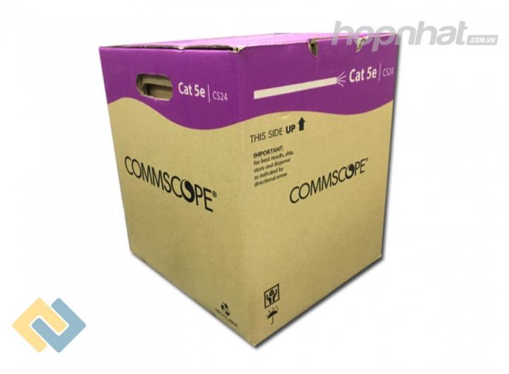 Cáp mạng Cat5e FTP Commscope AMP - Báo giá phân phối Cáp mạng Cat5e FTP Commscope AMP chính hãng
