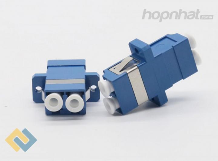 Adapter LC/UPC Duplex Singlemode - Báo giá phân phối Adapter LC/UPC Duplex Singlemode chính hãng